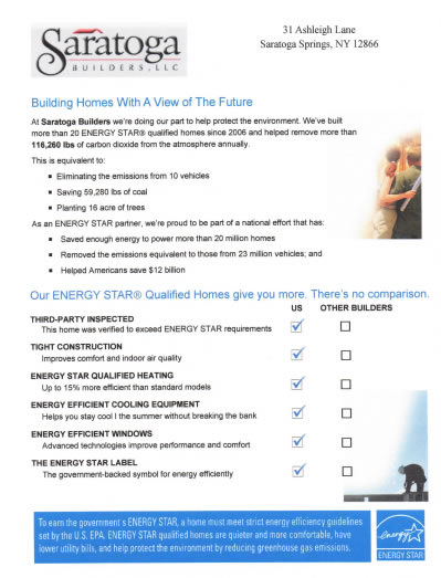 RESNET Home Performance Portfolio